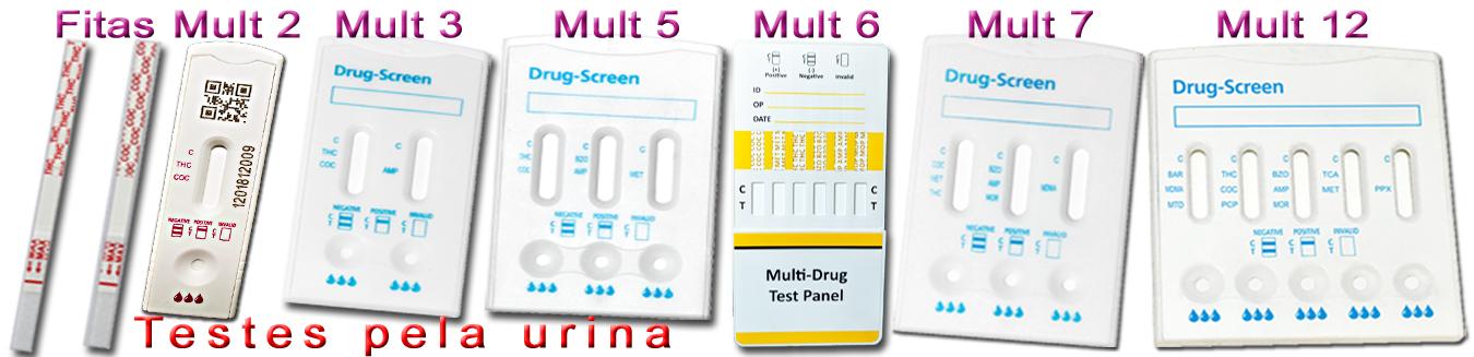 Testes Drogas Urina