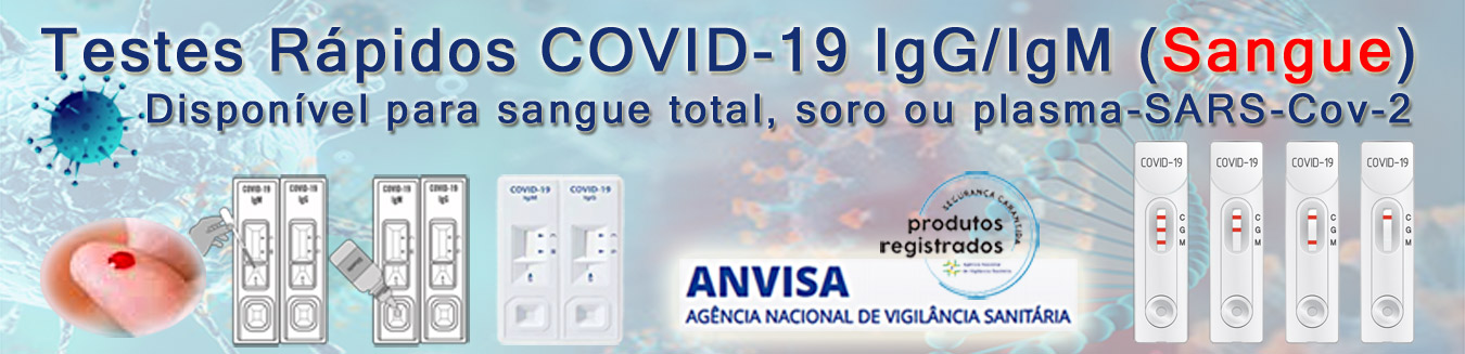 COVID IgG/IgM Sangue
