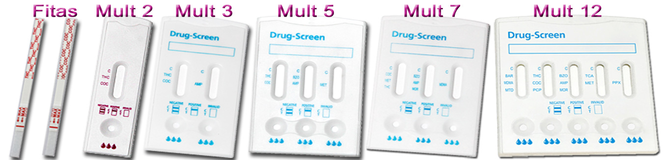 Testes-Drogas-Urina