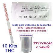 10 Kits para teste de-THC