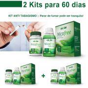 2 Kits Pare de Fumar Com Nico Free Antitabagismo