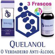 Anti-álcool Quelanol 03 frascos