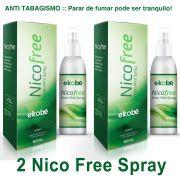NicoFree Spray Parar de Fumar 2 Frascos