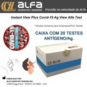 Teste Rápido COVID-19 Antígeno Ag - ALFA - Caixa com 20 unidades