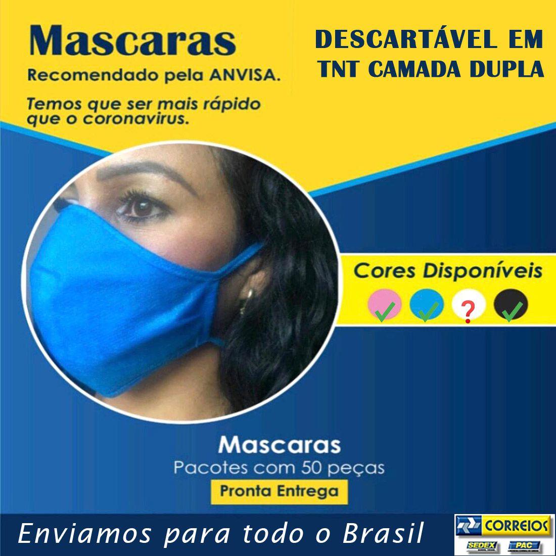 2000 MÁSCARAS EM TNT DUPLO - PRONTA ENTREGA  - Testes Para Drogas e COVID-19. Máscaras e Como Parar de Beber e Fumar