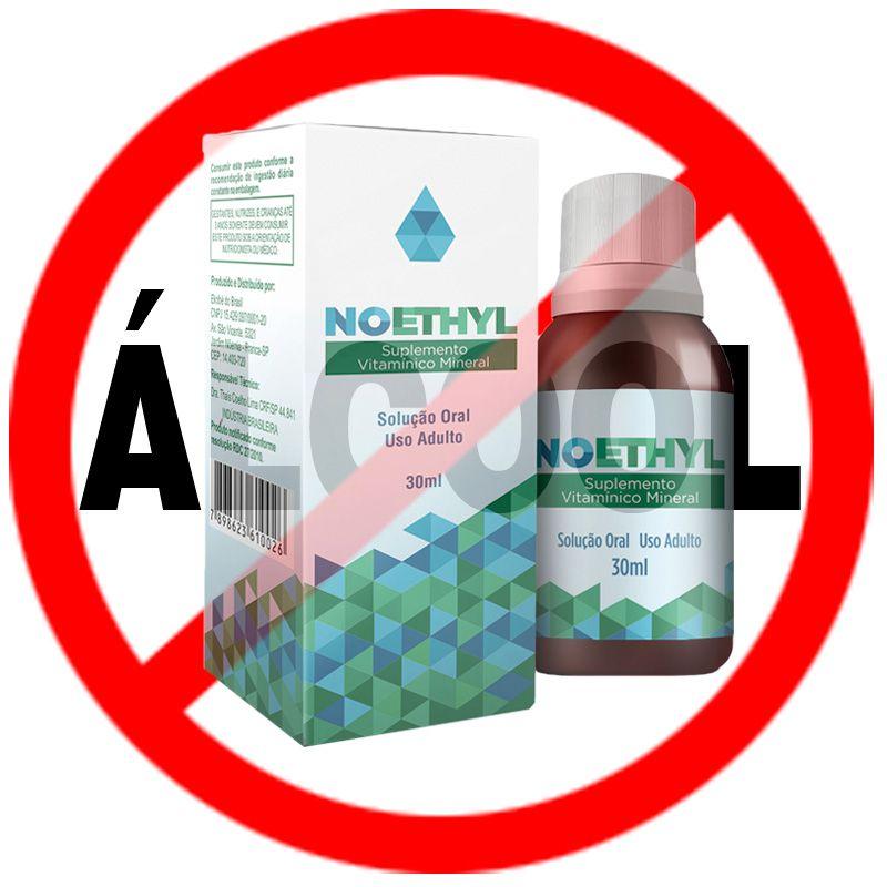 Suplemento NOETHYL 01 frasco  - Testes Para Drogas e COVID-19. Máscaras e Como Parar de Beber e Fumar