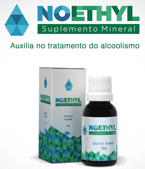 Anti-alcool NOETHYL 02 frascos 30ml  - Prevenção e Saúde
