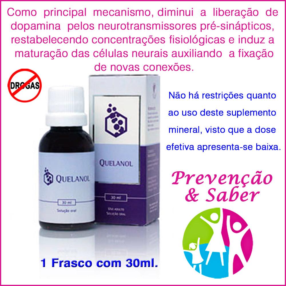 Anti-álcool Quelanol 01 frasco 30ml  - Prevenção e Saúde