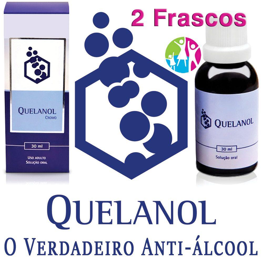Anti-álcool Quelanol 02 frascos  - Prevenção e Saúde