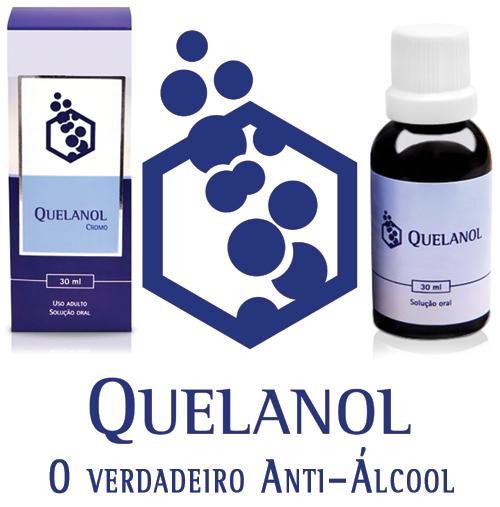 Anti-álcool Quelanol 02 frascos de 30ml  - EAB - Prevenção e Saúde