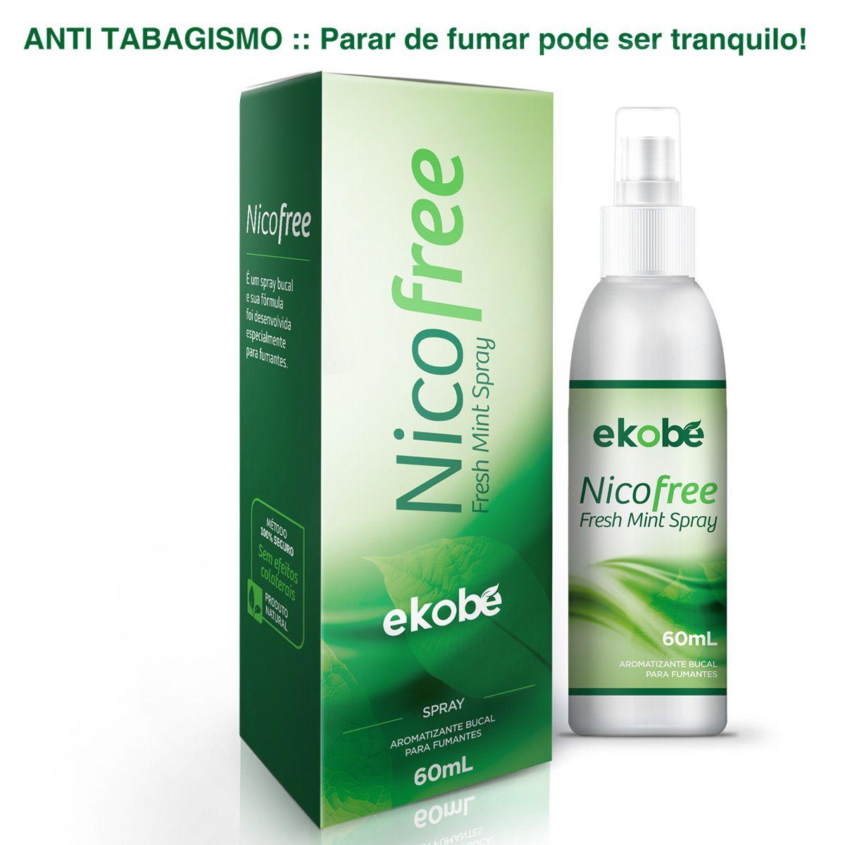 NicoFree Spray Parar de Fumar  - Testes Para Drogas e Parar de Beber e Fumar