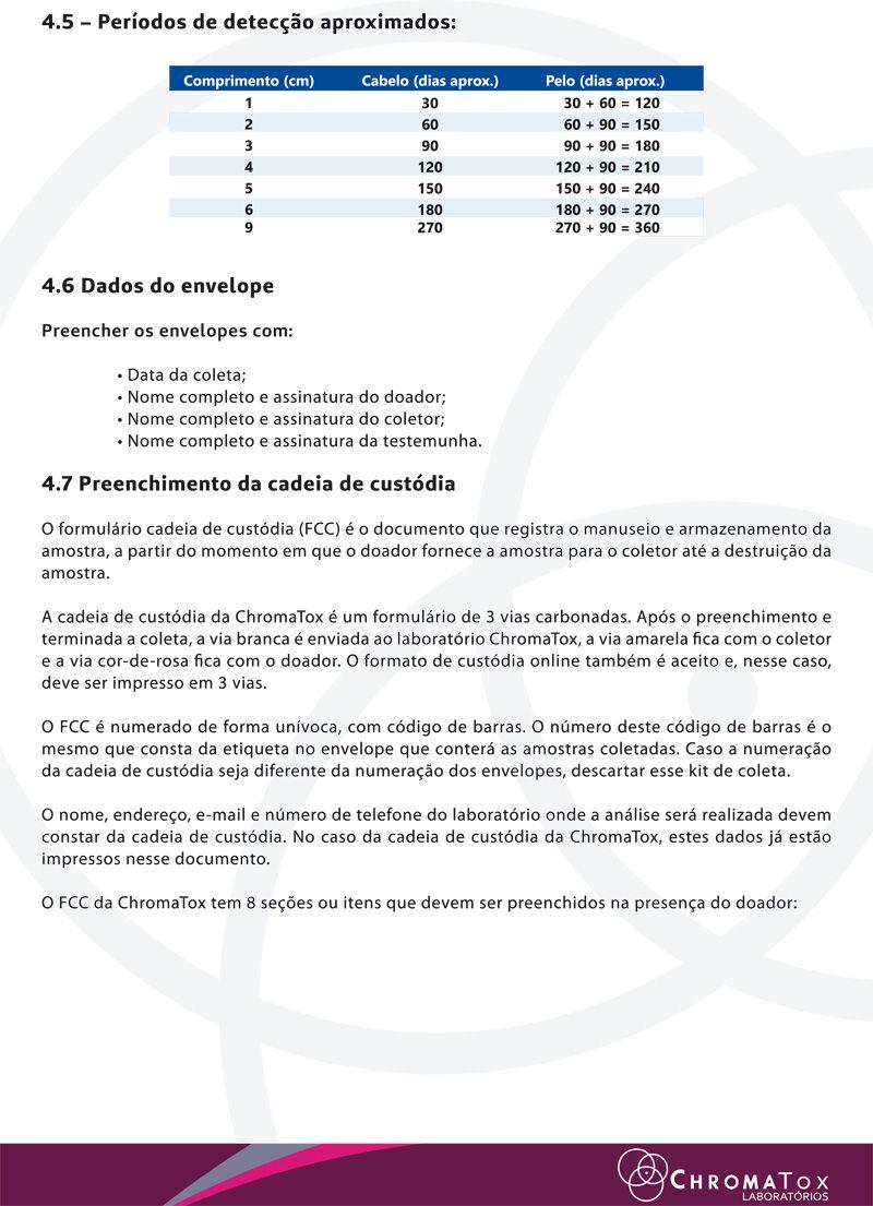 Teste de Cabelo para 8 drogas  - Prevenção e Saúde