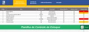 Planilha de Controle de Estoque para Restaurantes - Cod 0004