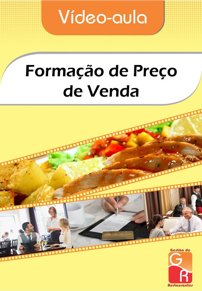Formação de Preço de Venda para Restaurantes e Bares  - GR - Treinamento em Gestão de Restaurantes e Gastronommia