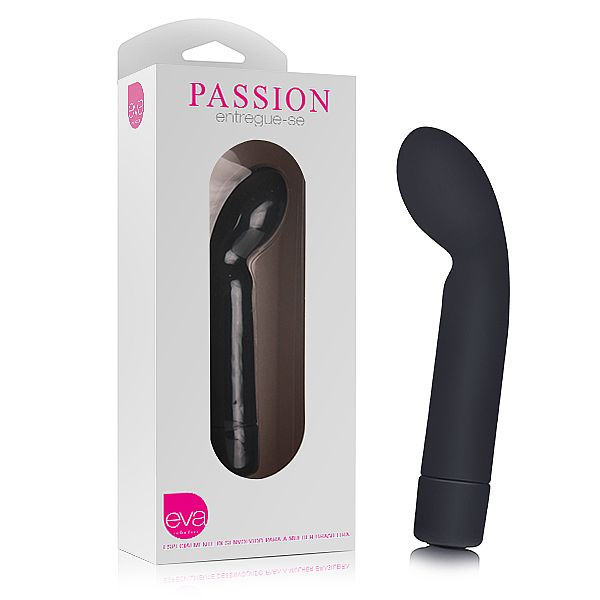 Vibrador Passion Preto - Eva Collection