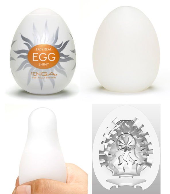 Masturbador Tenga Egg – Shiny