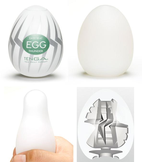 Masturbador Tenga Egg – Thunder
