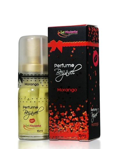 Perfume Beijável Morango - 15ml
