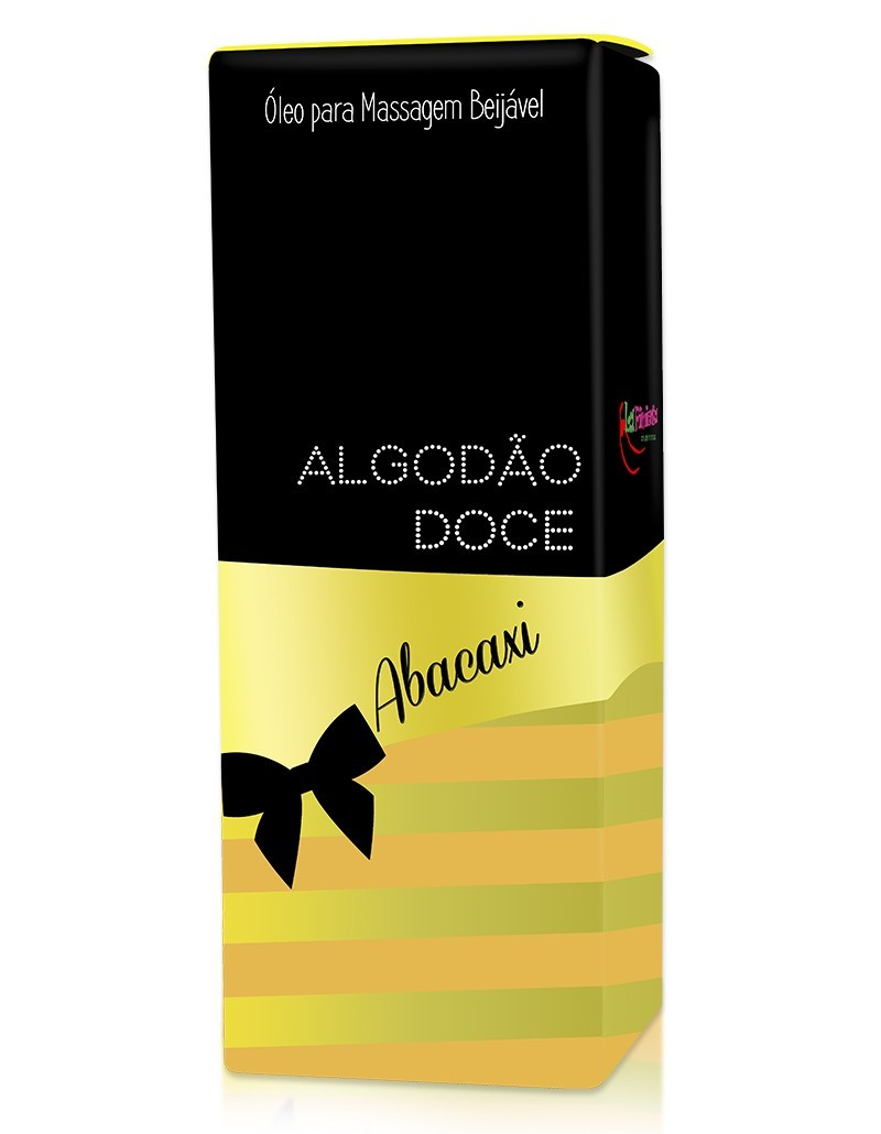 Óleo beijável Algodão doce - Abacaxi