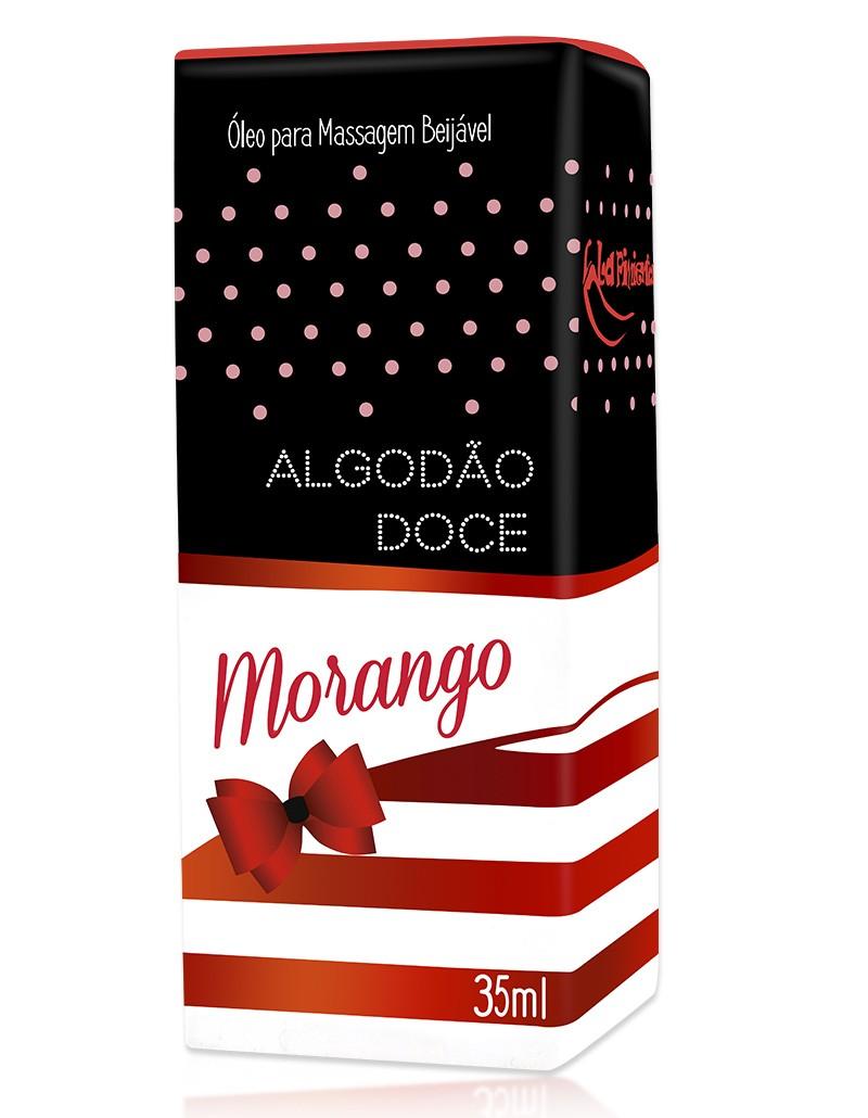 Óleo beijável Algodão Doce - Morango