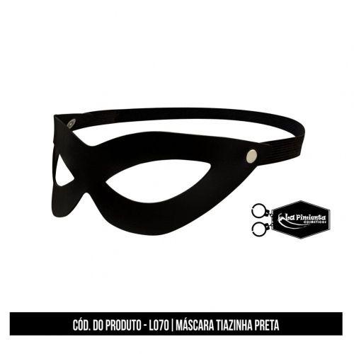 Máscara Tiazinha Preta