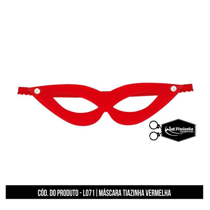 Máscara Tiazinha Vermelha