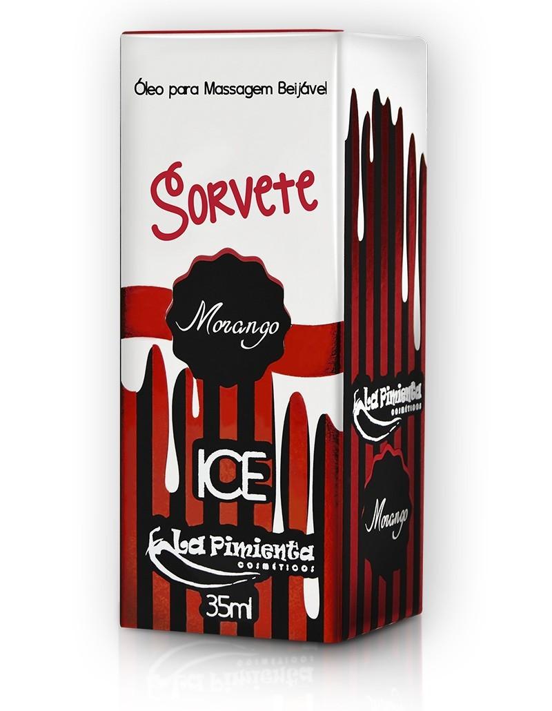 ÓLEO SORVETE MORANGO ICE - 35ML