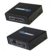 Distribuidor Hdmi 1 X 2 Amplificado Ld Cabos