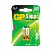Pilha Super Alcalina AAA 1,5V Embalagem C / 2 Peça
