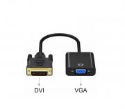 Conversor Adaptador DVI-D Digital Para VGA