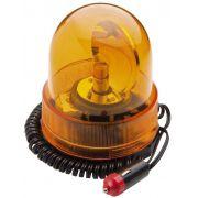 Indicador Giroflex Luminoso Amarelo Base Magnética 12V