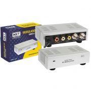 Modulador RF Bivolt Mini Áudio e Vídeo Para RF - MXT