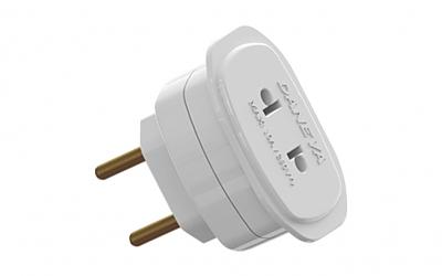 Adaptador De Tomada 2P Universal 10A / 250V  - LD Cabos Soluções Áudio e Vídeo