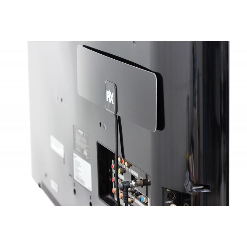 Antena Digital HDTV Slim UHF VHF Interna Externa para Parede Pix  - LD Cabos Soluções Áudio e Vídeo