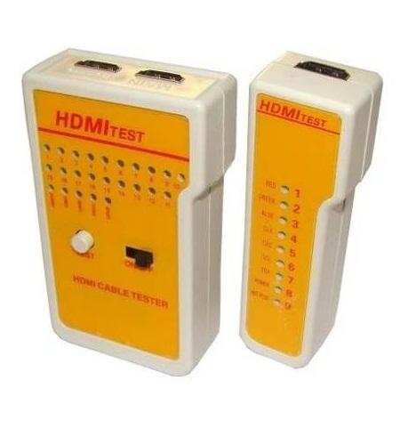 Testador de cabo HDMI  - LD Cabos Soluções Áudio e Vídeo