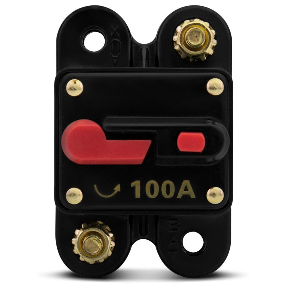 Disjuntor Automotivo Tech One 100AMP Proteção  - LD Cabos Soluções Áudio e Vídeo