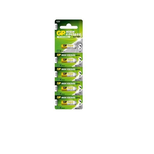 Bateria Alcalina A27 Multiuso 12v Embalagem C / 5 Peça  - LD Cabos Soluções Áudio e Vídeo
