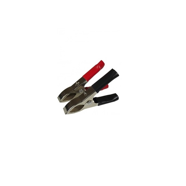Garra Jacaré Para Bateria 10A Pequena Embalagem C / 10 Peça  - LD Cabos Soluções Áudio e Vídeo