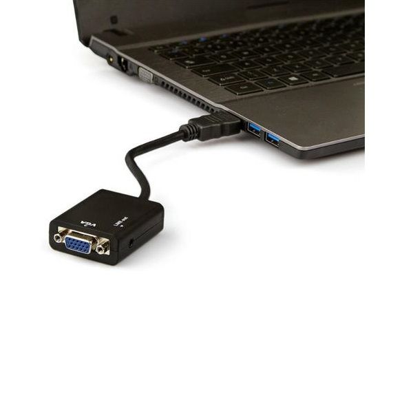 Cabo Conversor HDMI Para VGA  - LD Cabos Soluções Áudio e Vídeo