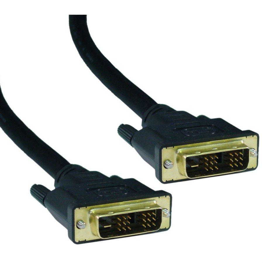 Cabo DVI Para DVI Digital 18 Pinos - 1.8 Metros  - LD Cabos Soluções Áudio e Vídeo