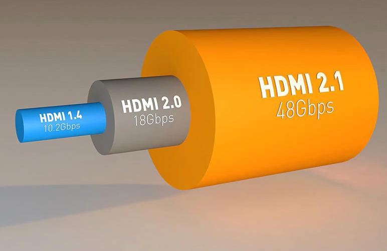 Cabo HDMI 2.1 8K 60hz 4K 120hz 48 GBPS - 3 Metros  - LD Cabos Soluções Áudio e Vídeo