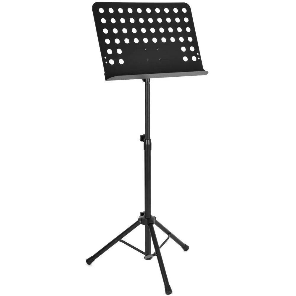 Estante Partitura Dobrável Maestro Tripe  - MSP002  - LD Cabos Soluções Áudio e Vídeo