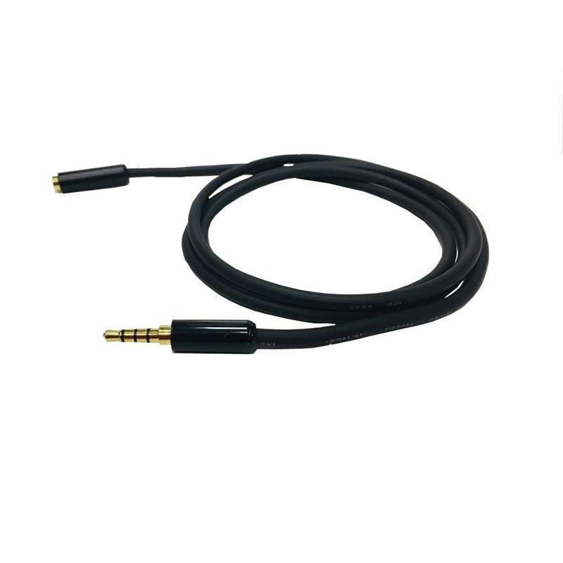 Extensão P3 Para Fone e Microfone Celular Notebook HeadSet - 3 Metros  - LD Cabos Soluções Áudio e Vídeo