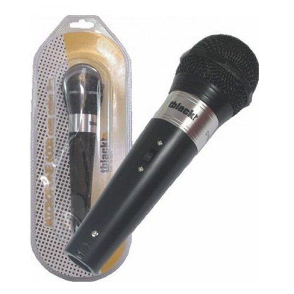 Microfone Dinâmico Tblack - 600R  - LD Cabos Soluções Áudio e Vídeo