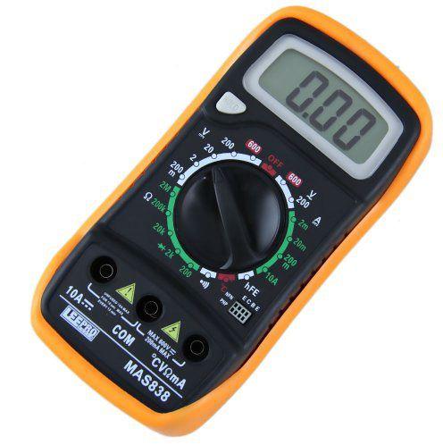 Multimetro Digital Com Sensor MAS- 838  - LD Cabos Soluções Áudio e Vídeo