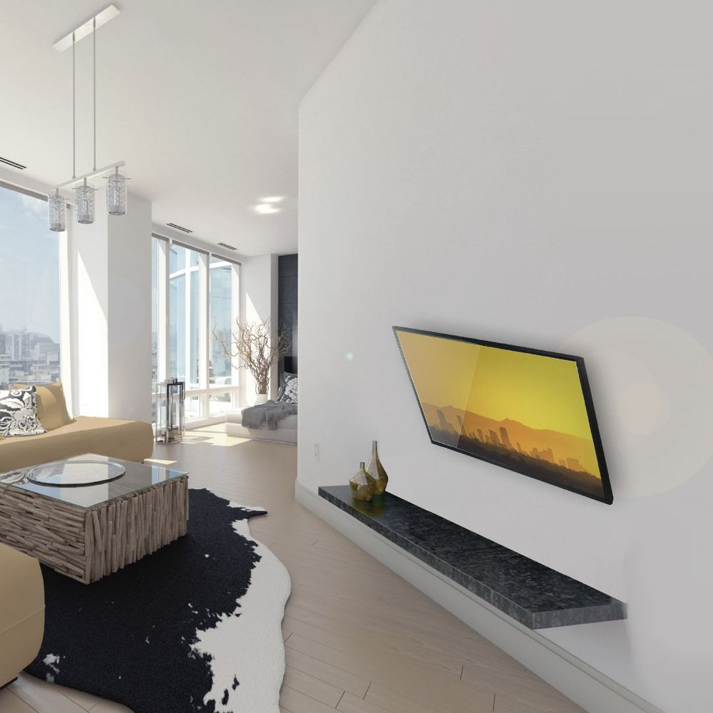 """Suporte de Parede com Inclinação para TVS LED LCD PLASMA 3D DE 15"""" A 43"""" - VESA 400 - T03V4  - LD Cabos Soluções Áudio e Vídeo"""