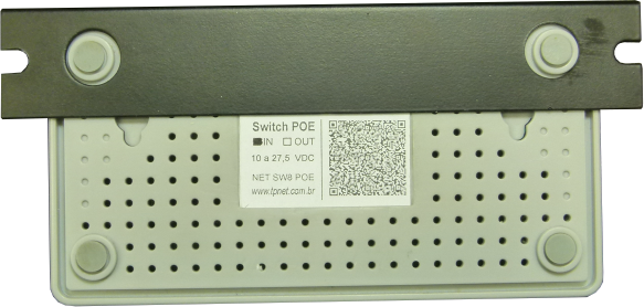 Switch POE 8 Portas IN
