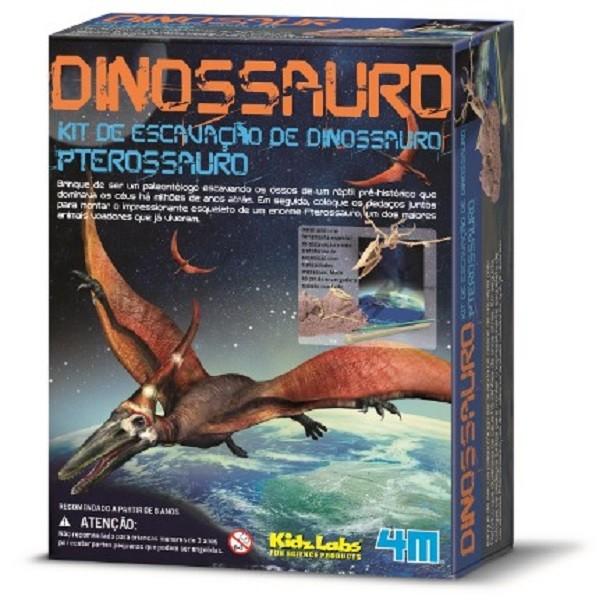 Kit de Escavação Pterossauro 4M