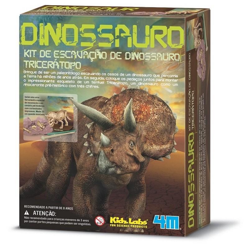 Kit de Escavação Triceraptor 4M