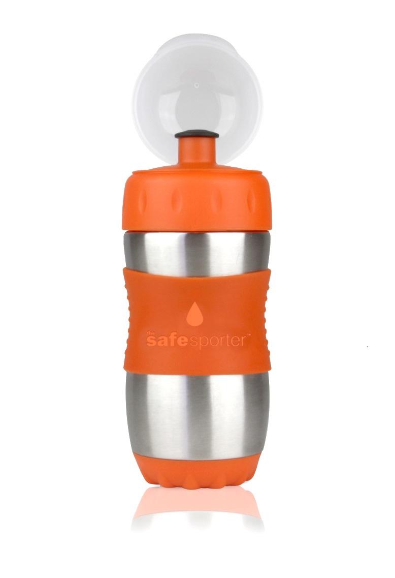 Garrafinha Safe Sporter 355 ml Laranja